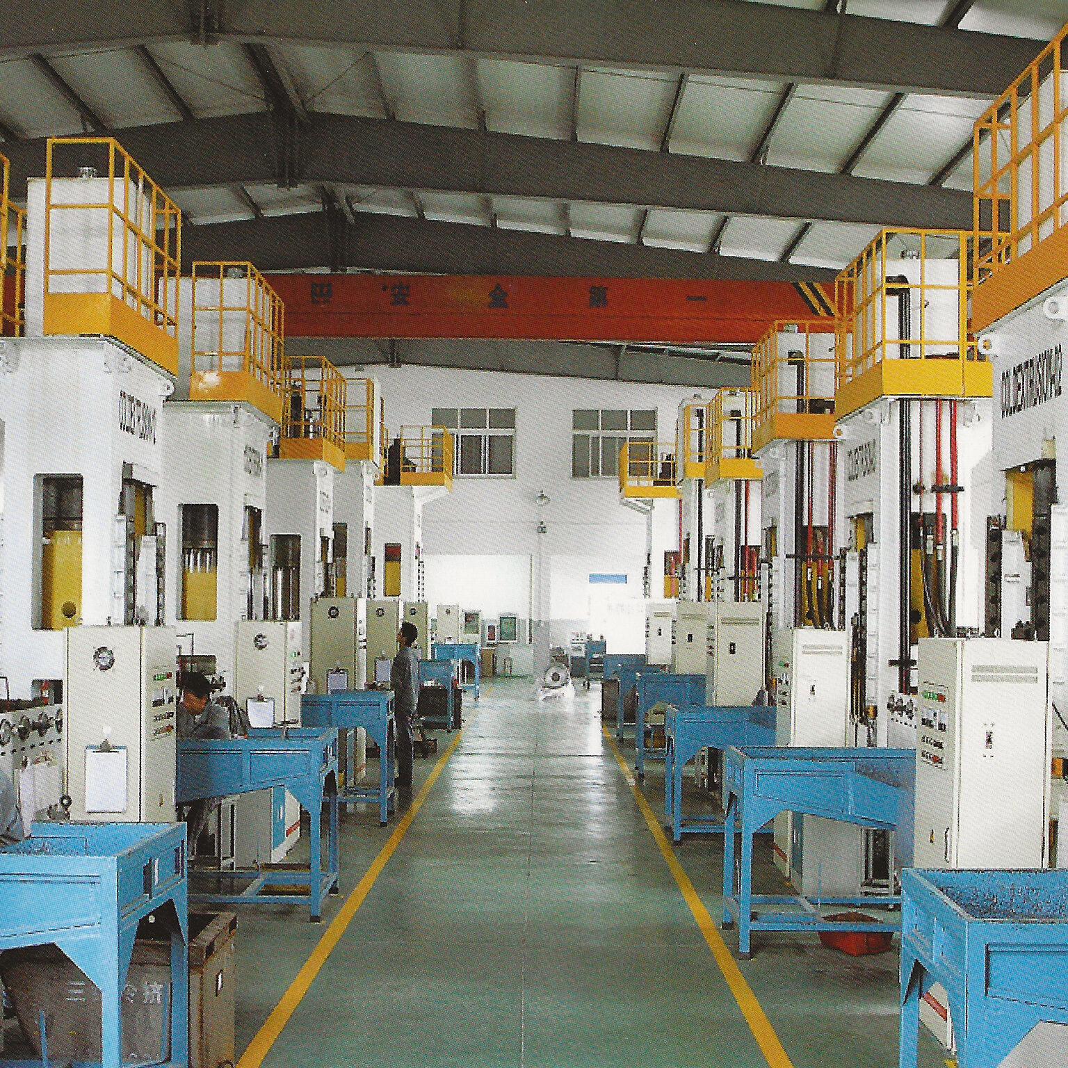 Electrical extrusion presses