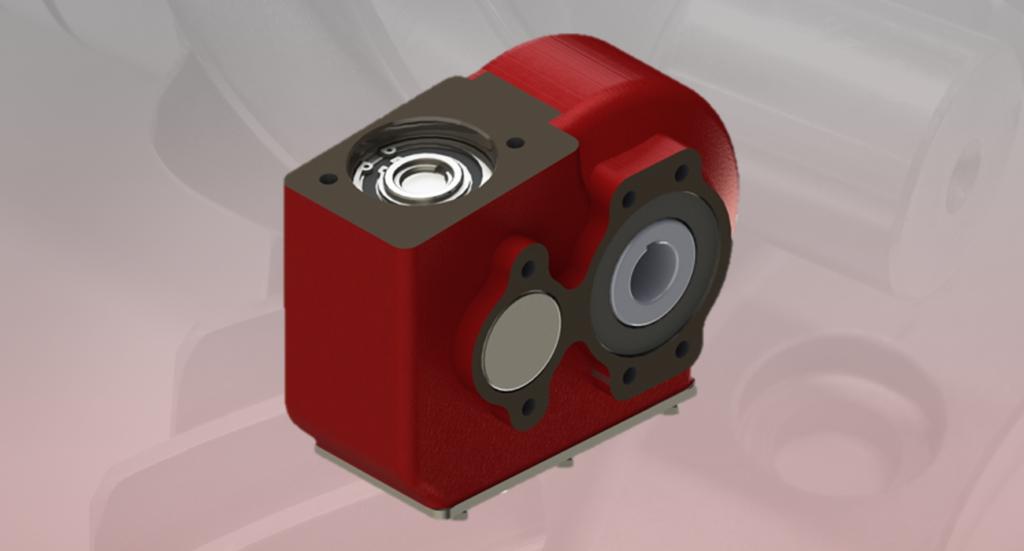 Hydraulic gearbox H150