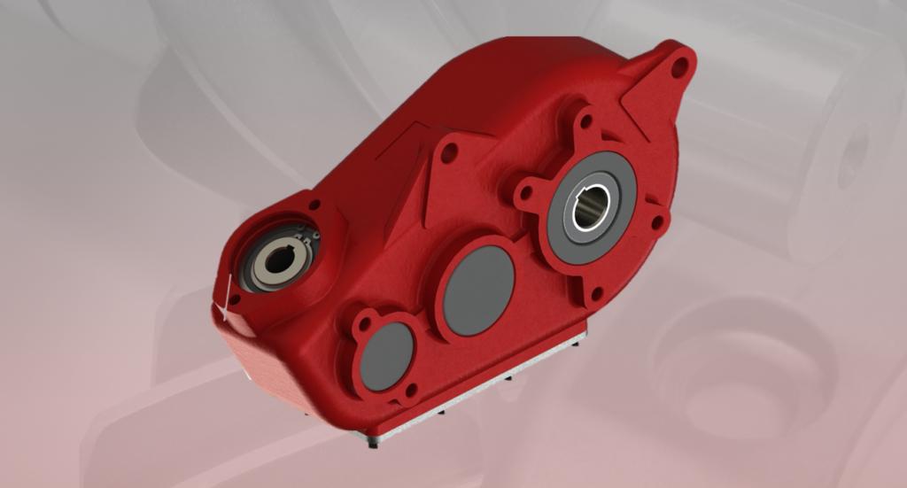 Hydraulic gearbox H300
