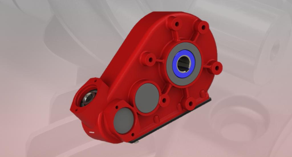 Hydraulic gearbox H350