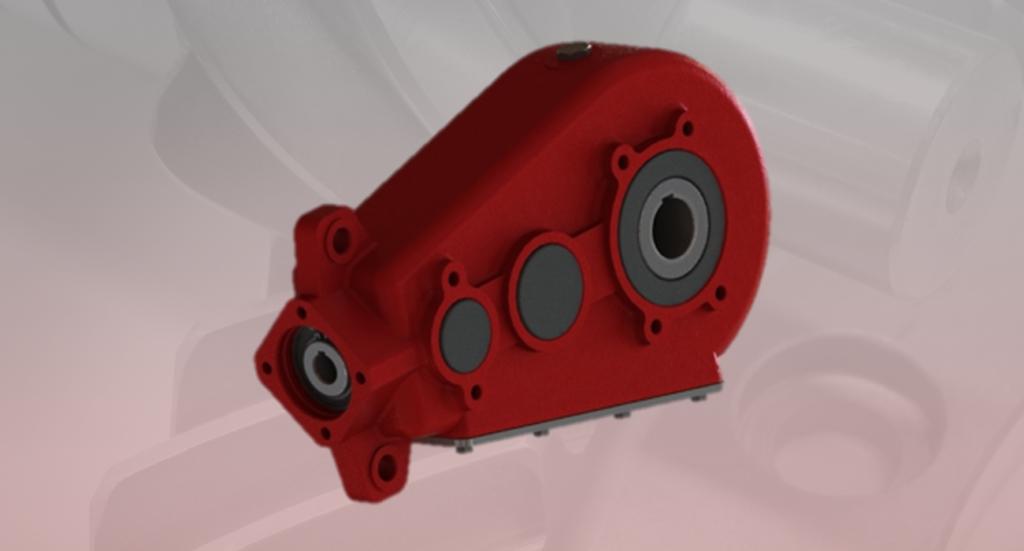 Hydraulic gearbox H400