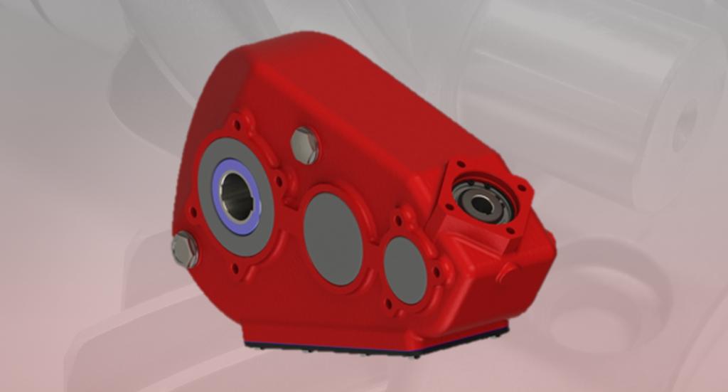 Hydraulic gearbox H650