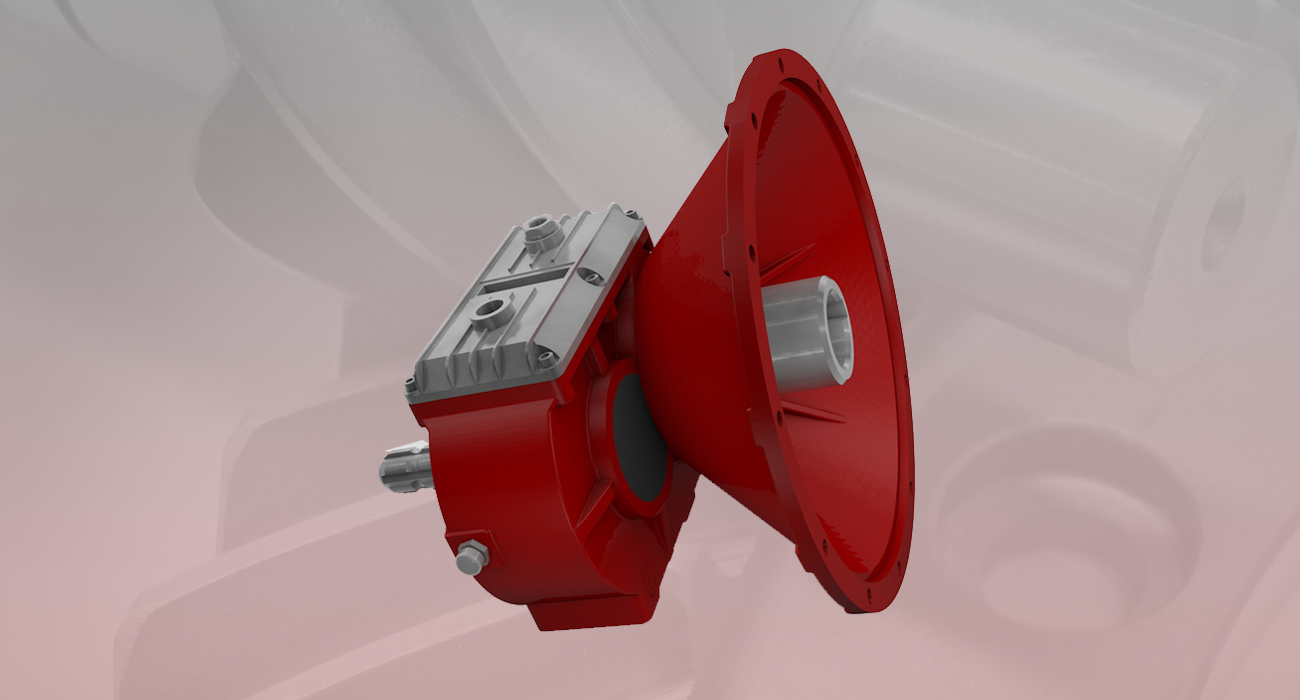 Reductores para generadores - Serie PE (EJES PARALELOS)